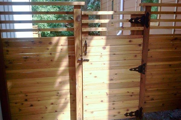 gate door fence